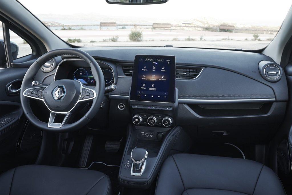 Interior Renault Zoe 2020