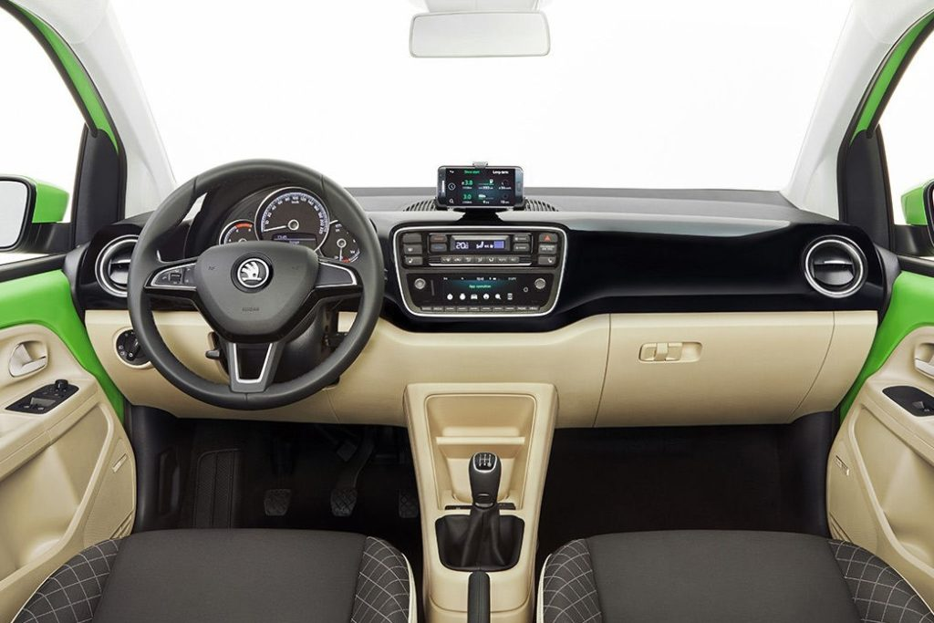 Interior Skoda Citigo 2017