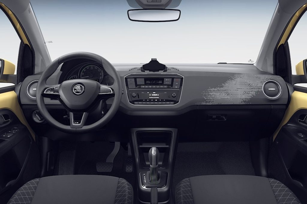 Interior Skoda Citigo 2019
