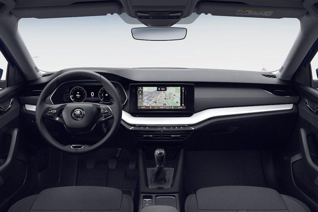 Interior Skoda Octavia 2020