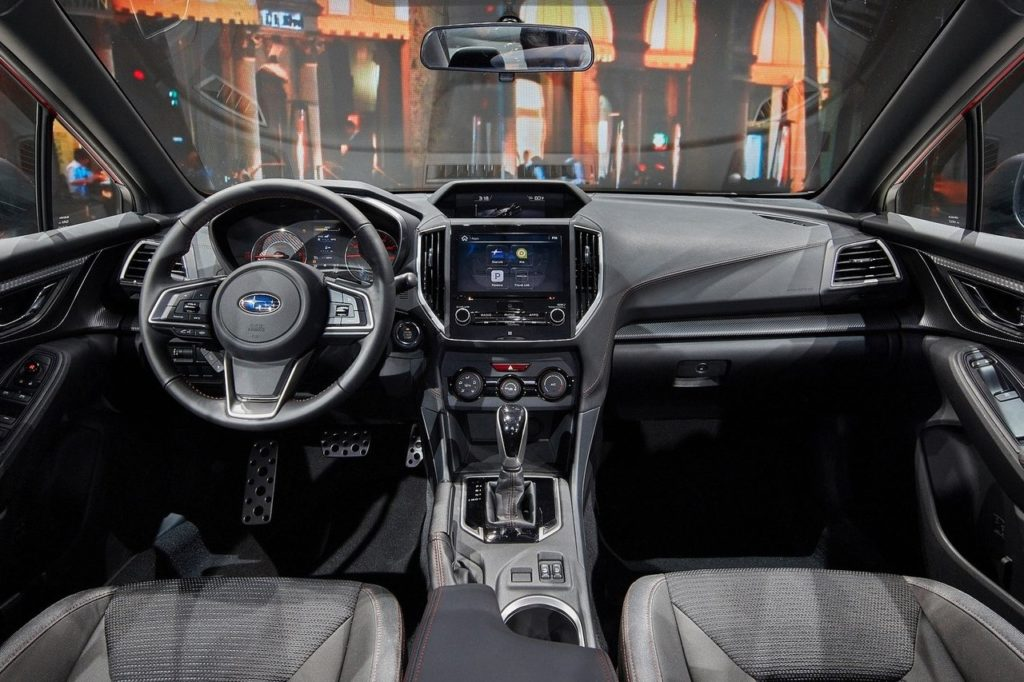 Interior Subaru Impreza 2017