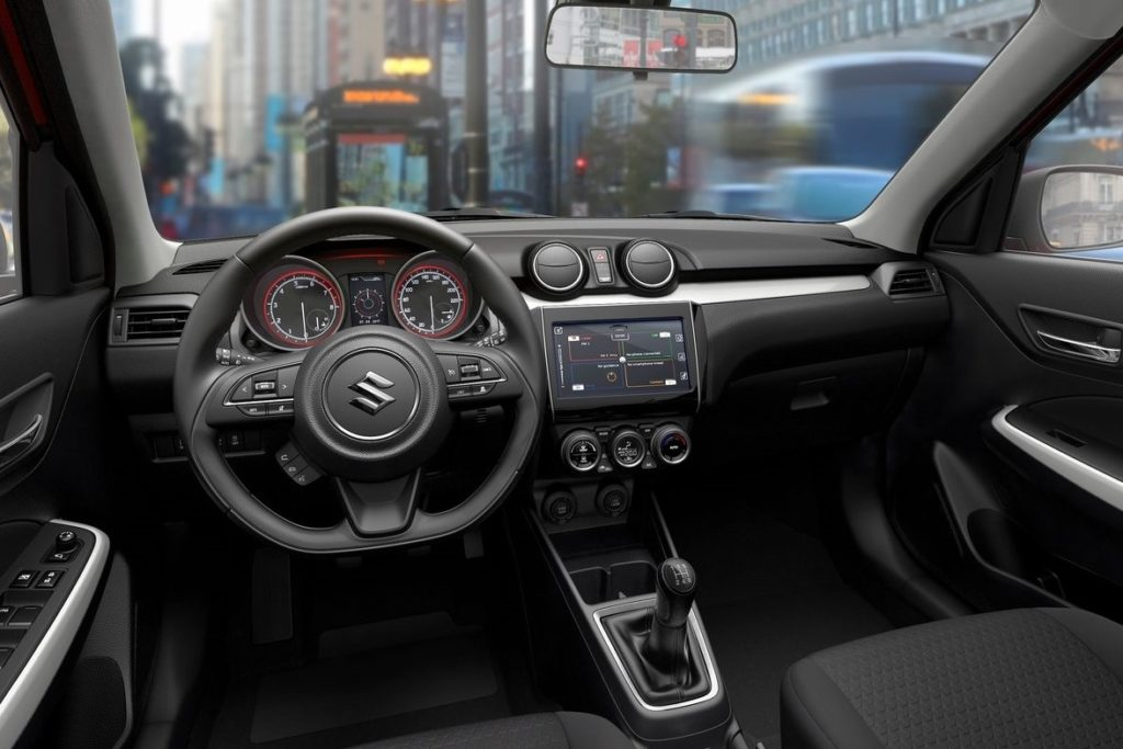 Interior Suzuki Swift 2017