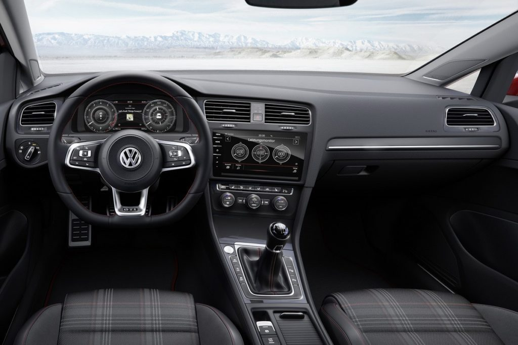 Interior Volksagen Golf 2017