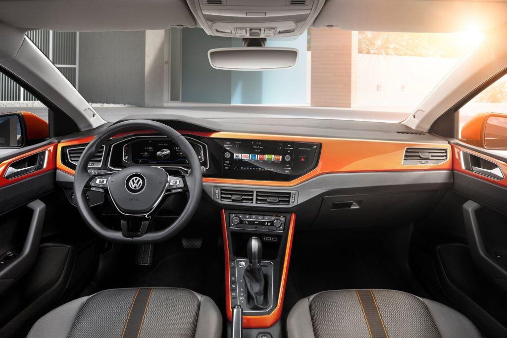 Interior Volkswagen Polo 2018