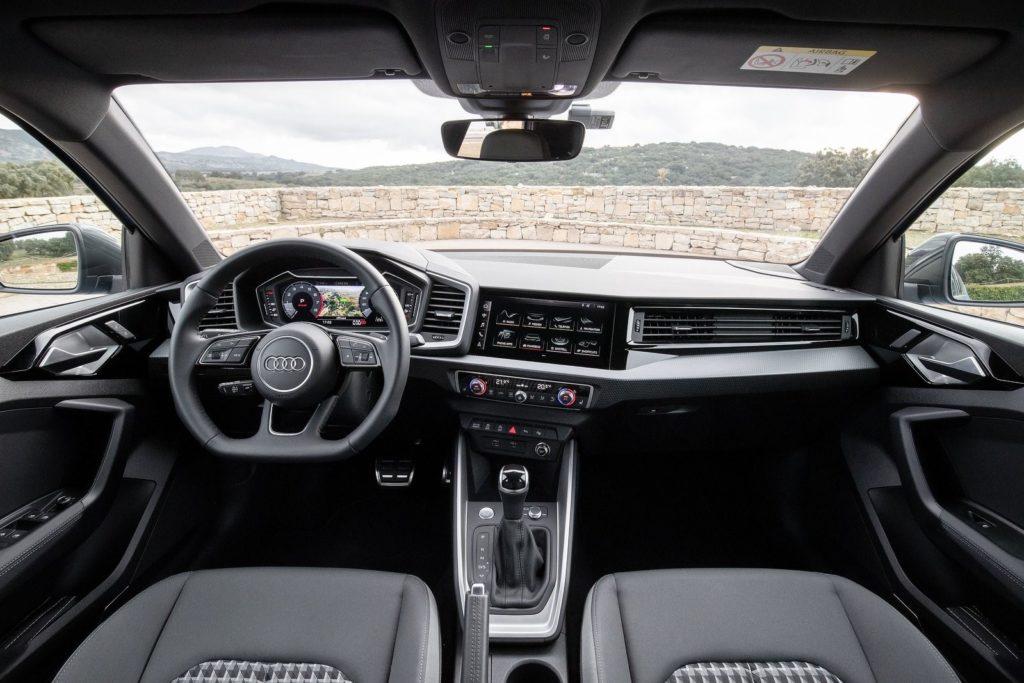 Iterior Audi A1 2019