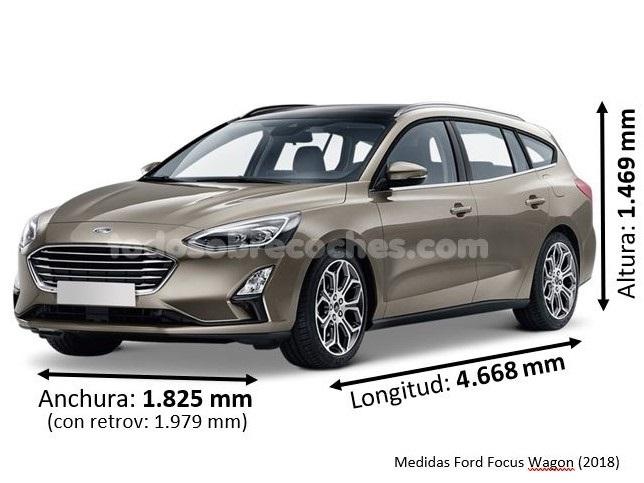 Medidas Ford Focus Wagon 2018