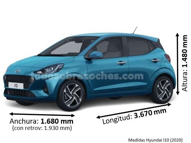 Medidas Hyundai i10 2020
