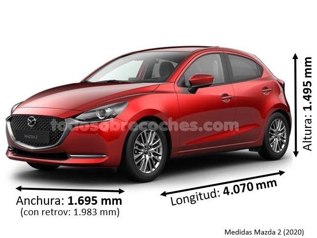 Medidas Mazda 2 2020