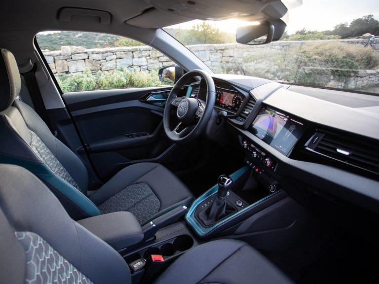 Plazas delanteras Audi A1 2019