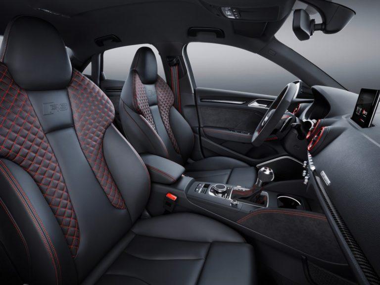 Plazas delanteras Audi A3 sedan 2016