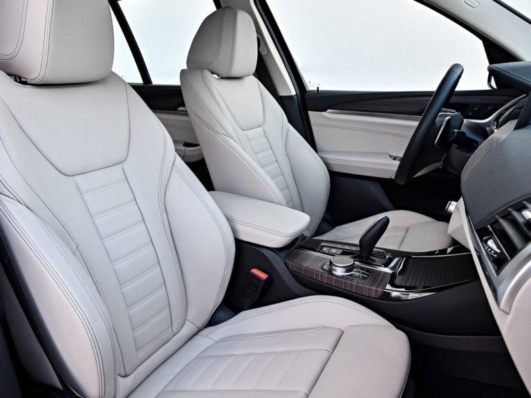 Plazas delanteras BMW X3 2019