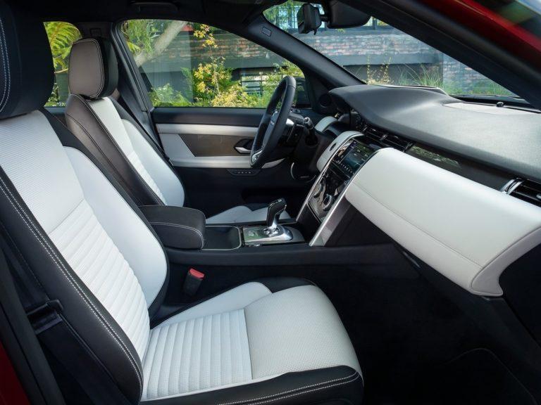 Plazas delanteras Land Rover Discovery sport 2020