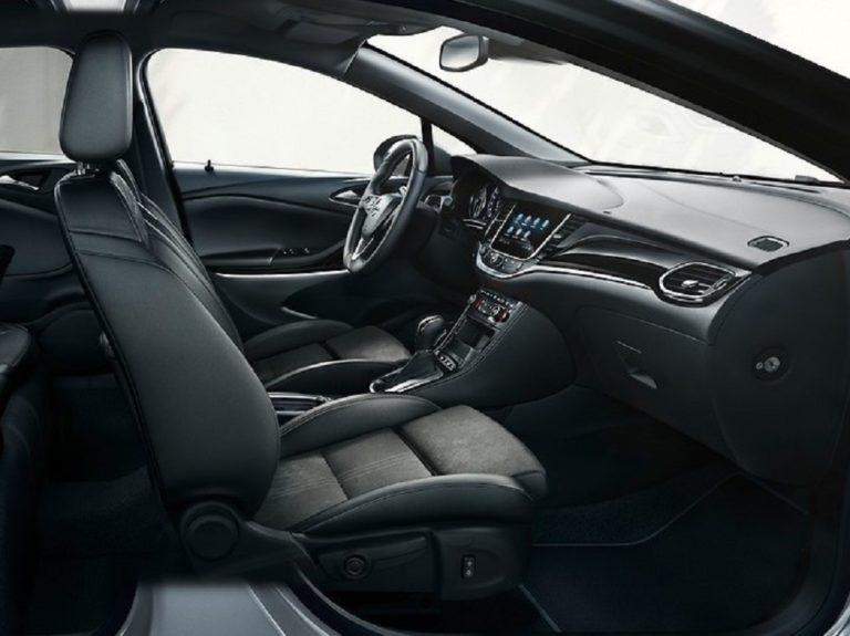 Plazas delanteras Opel Astra 2020
