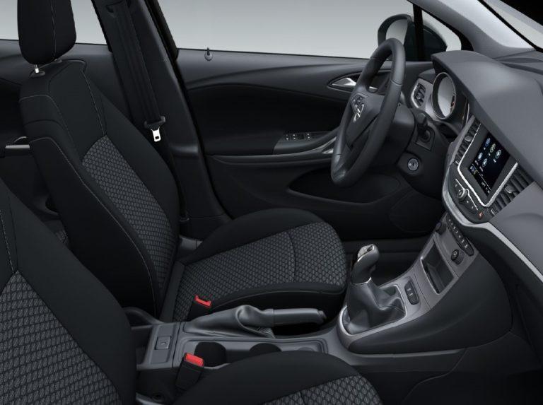 Plazas delanteras Opel Astra Sports Tourer 2020