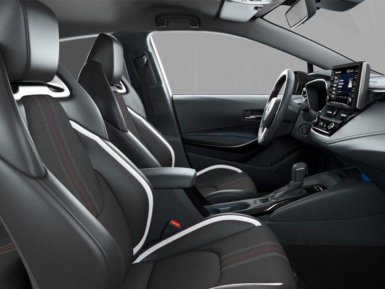 Plazas delanteras Toyota Corolla 2019