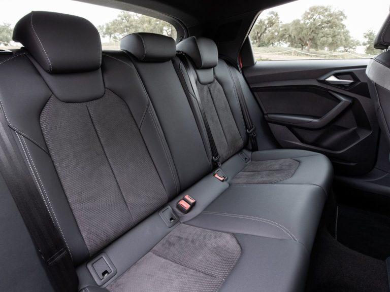 Plazas traseras Audi A1 2019