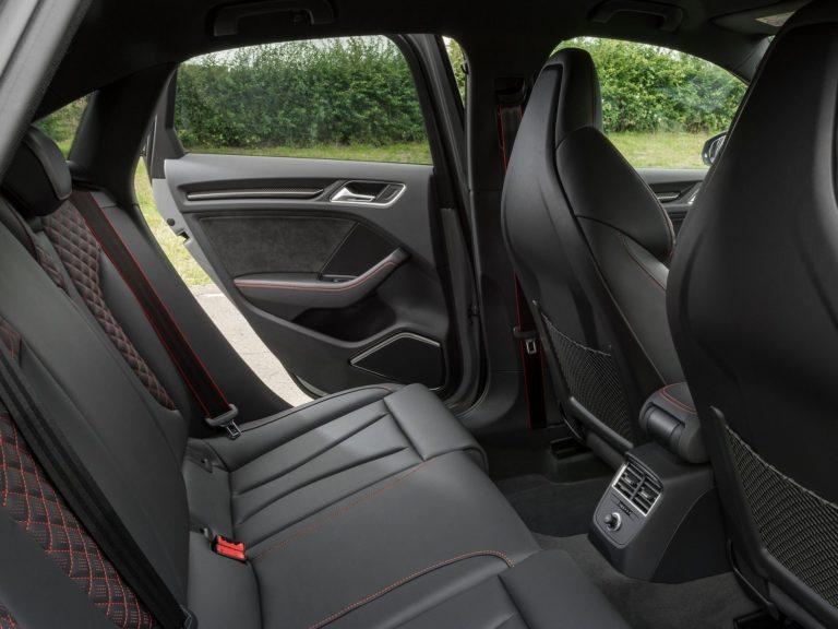 Plazas traseras Audi A3 sedan 2016