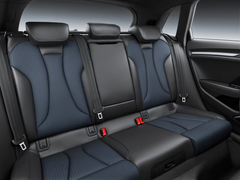 Plazas traseras Audi A3 sportback 2016