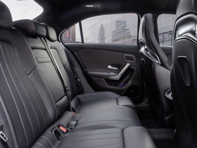 Plazas traseras Mercedes Clase A sedan 2019