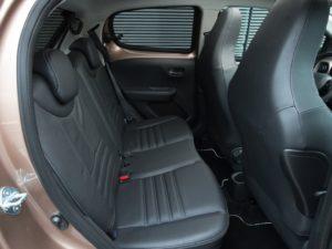 Plazas traseras Peugeot 108 2015