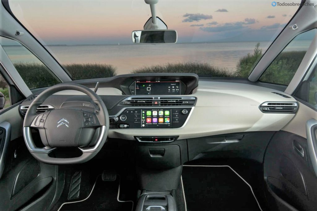 Interior Citroen C4 Spacetourer 2018