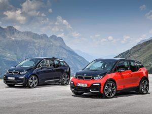 BMW i3 2018 color rojo y negro