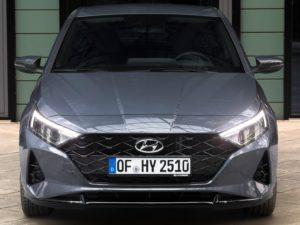 Frontal Hyundai i20 (2020)