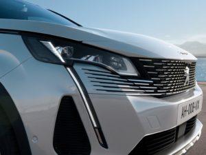 Frontal nuevo del Peugeot 3008 2021
