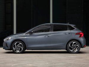Hyundai i20 (2020) de lado vista lateral