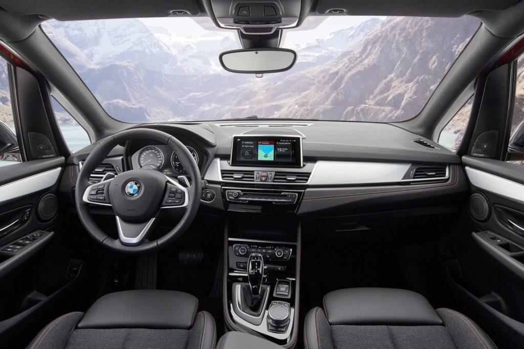 Interior BMW serie 2 Active Tourer 2018