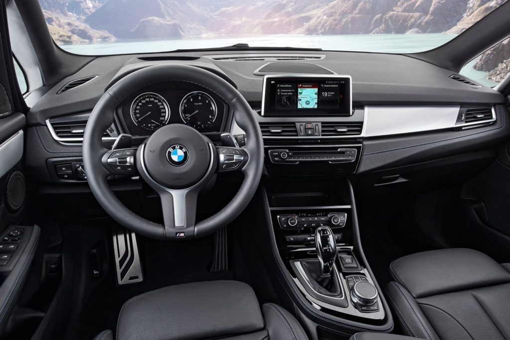 Interior BMW serie 2 Gran Tourer 2018