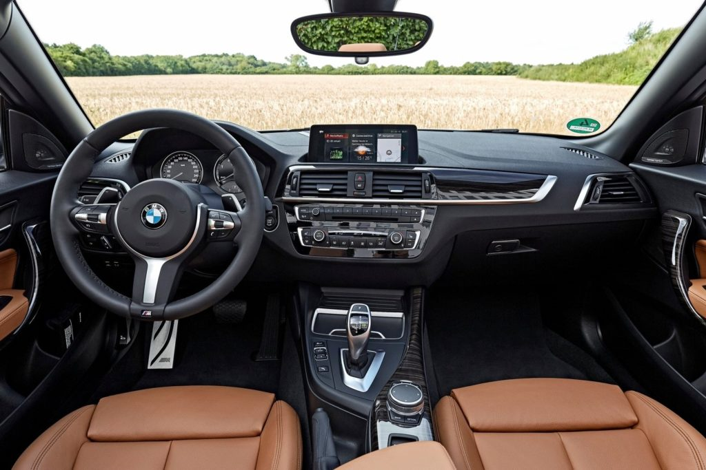 Interior BMW serie 2 cabrio 2017
