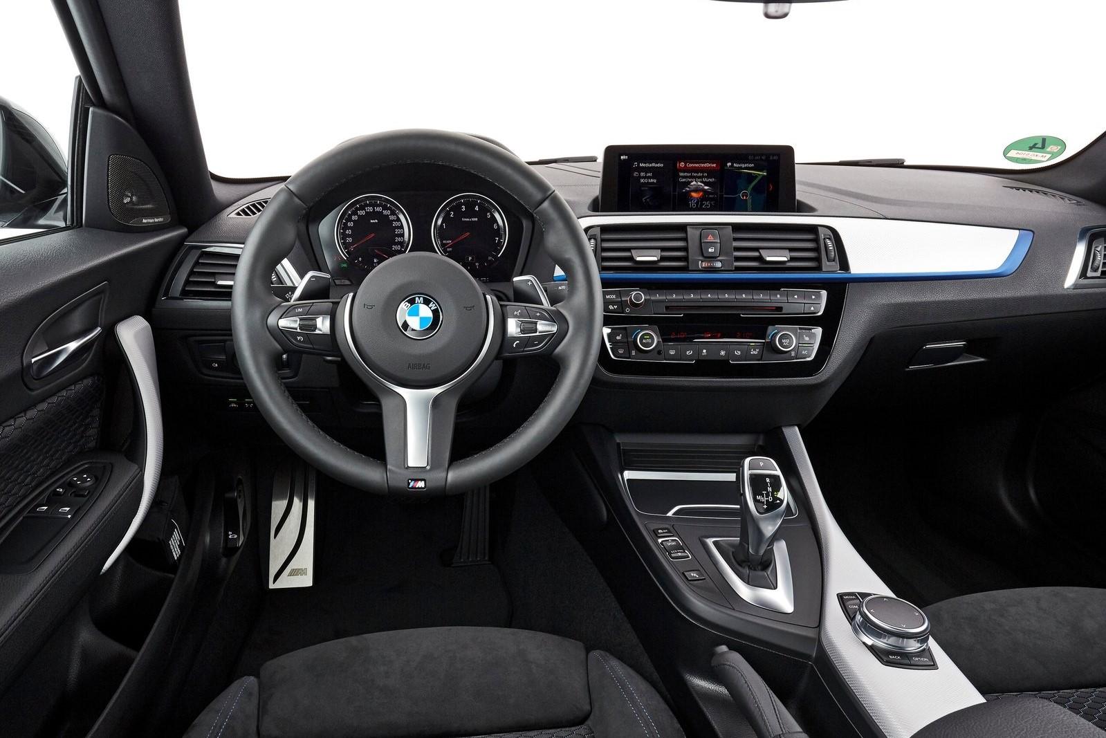 Interior BMW serie 2 coupé 2017