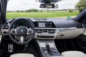Interior BMW serie 3 Touring 2019