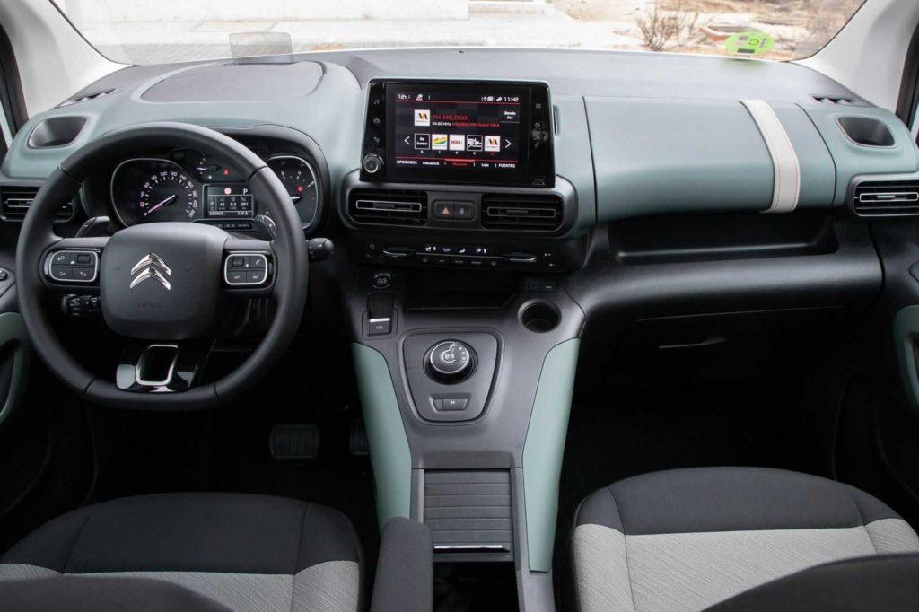 Interior Citroen Berlingo talla XL 2019