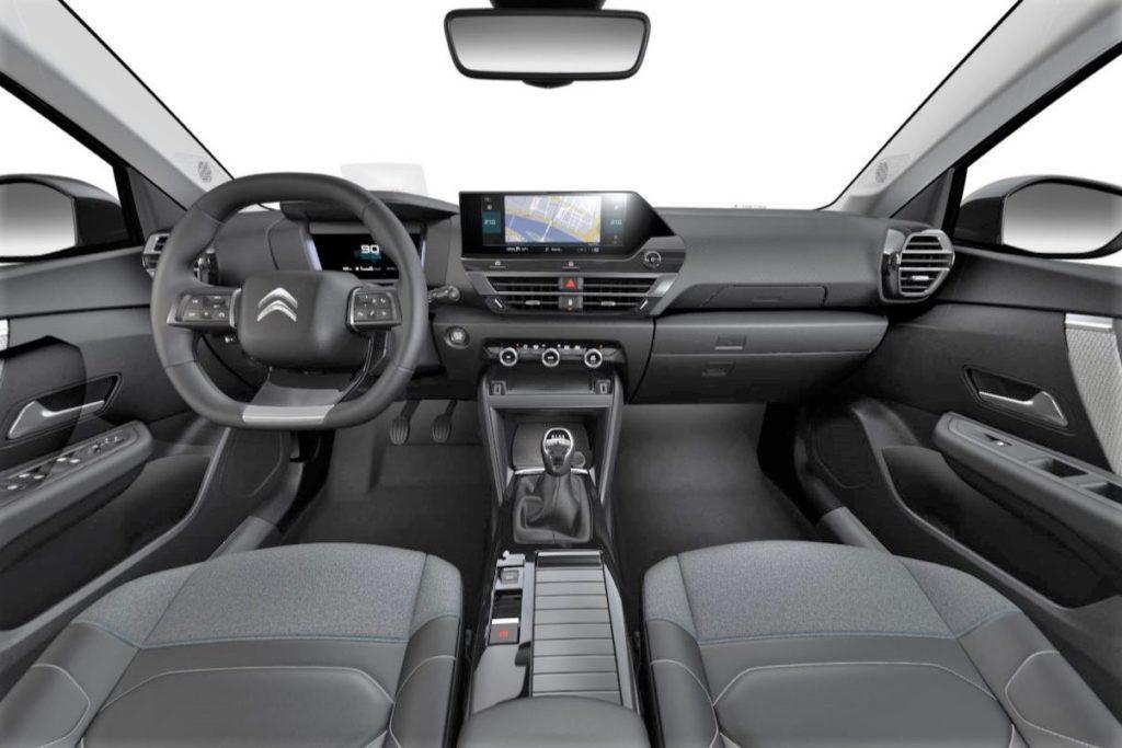 Interior Citroen C4 2020