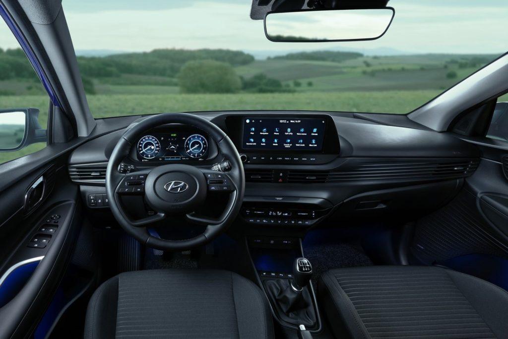 Interior Hyundai i20 (2020)