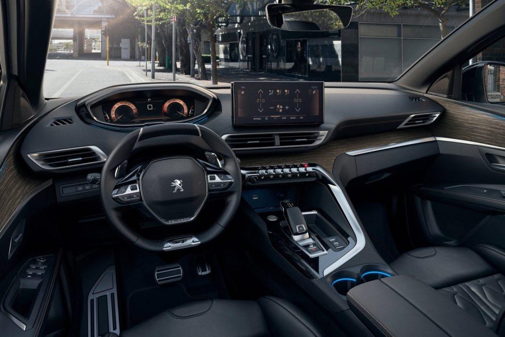 Interior Peugeot 5008 2021