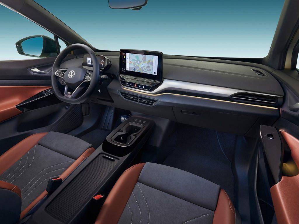 Interior Volkswagen ID.4 2021