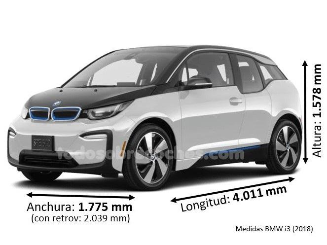 Medidas BMW i3 2018