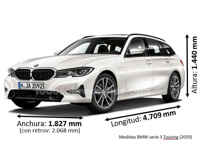 Medidas BMW serie 3 Touring 2020