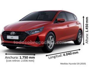 Medidas Hyundai i20 (2020)