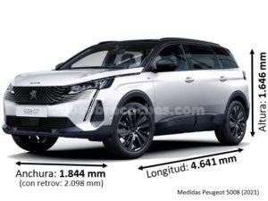 Medidas Peugeot 5008 2021