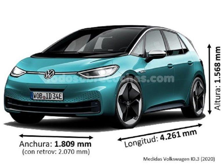Medidas Volkswagen ID.3 2020