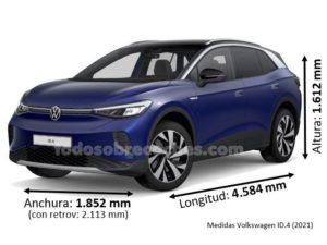 Medidas Volkswagen ID.4 2021