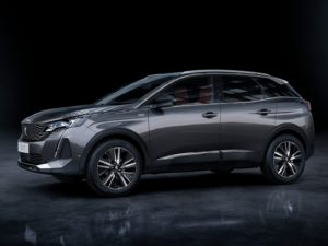 Peugeot 3008 2021 GT gris oscuro lateral