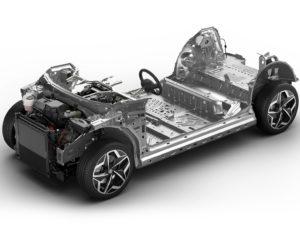 Plataforma modular MEB del Volkswagen ID.3