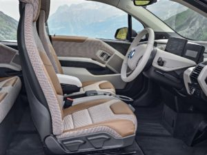 Plazas delanteras BMW i3 2018