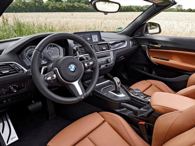 Plazas delanteras BMW serie 2 cabrio 2017