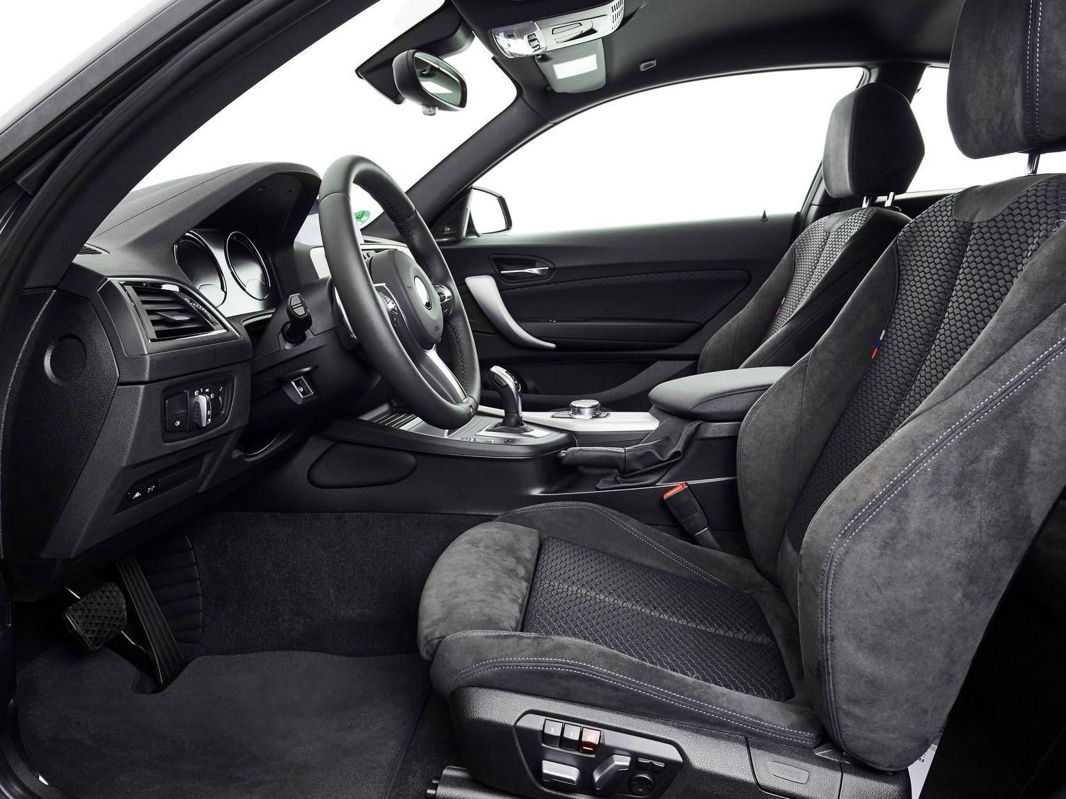 Plazas delanteras BMW serie 2 coupé 2017